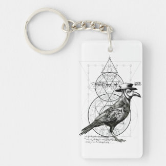 The Raven Keychain