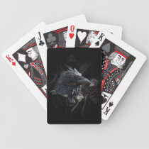 """""""The Raven Lord"""" Raven Crow Playing Cards"""