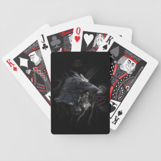 """The Raven Lord"" Raven Crow Playing Cards"