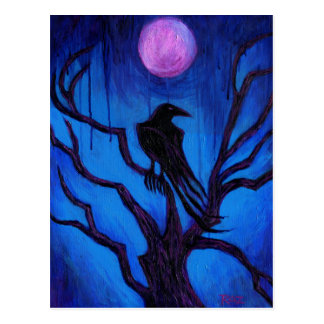 The Raven Nevermore Postcard