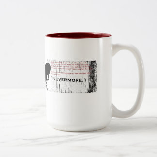 The Raven- Nevermore red Mug
