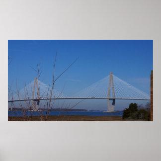 The Ravenel Bridge Poster