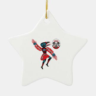 The Ravens Chant Ceramic Ornament