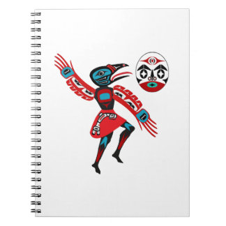 The Ravens Chant Spiral Notebook