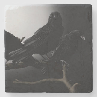 The Ravens Nevermore Stone Coaster