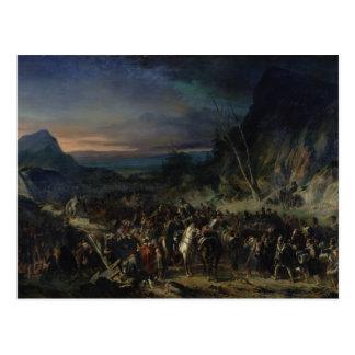 The Ravine, Campaign of 1809, 1843 Postcard