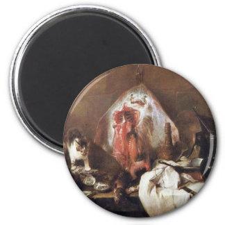 The Rays By Chardin Jean-Baptiste Siméon (Best Qua Refrigerator Magnet
