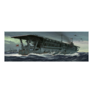 The read voyage OF the Kaga Poster