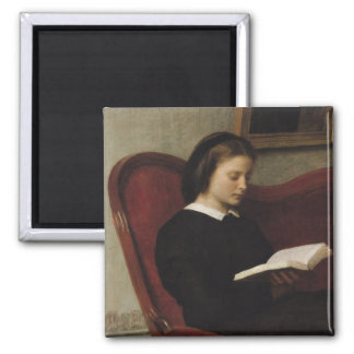 The Reader, 1861 Magnet