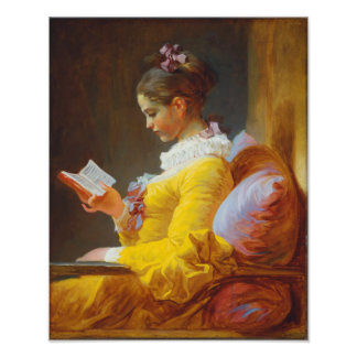 The Reader by Jean-Honore Fragonard Art Photo