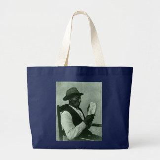 The Reader Large Tote Bag