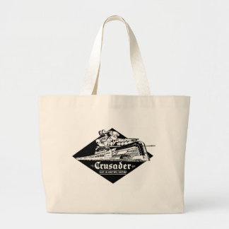 The Reading Railroad Crusader Streamliner Large Tote Bag