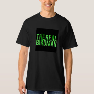 The Real Birdman Black Tee