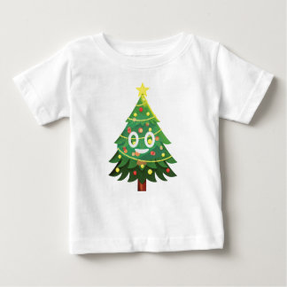 The real Emoji Christmas tree Baby T-Shirt