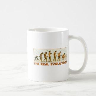 The Real Evolution Coffee Mug