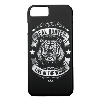 The Real Hunter Live in The Woods Glossy Phone Cas iPhone 8/7 Case