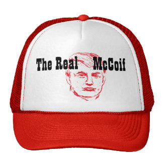The Real McCoif TRUMP 2016 | Funny Trucker Hat