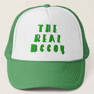 The Real McCoy Trucker Hat