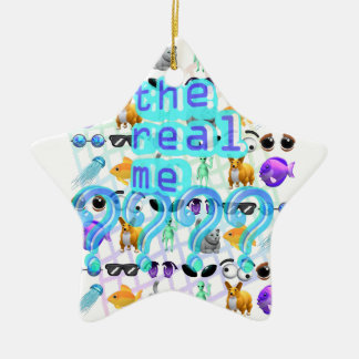 The Real Me Ceramic Star Ornament