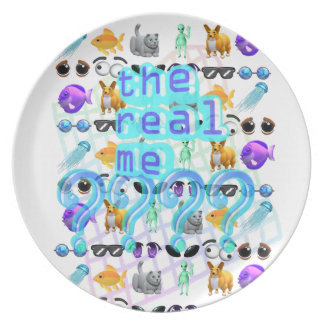 The Real Me Plate