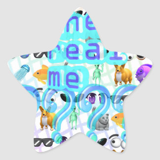 The Real Me Star Sticker