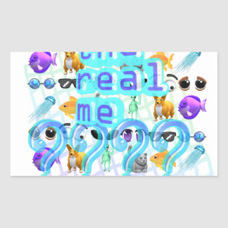 The Real Me Sticker