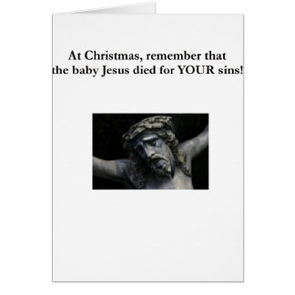The real meaning of Christmas Card