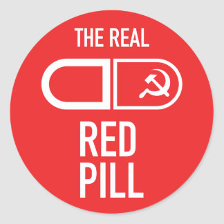 The Real Red Pill Sticker