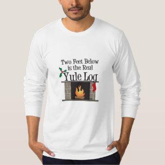 The Real Yule Log T-Shirt