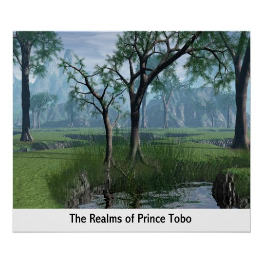 The Realms Of Prince Tobo Poster