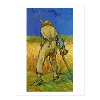 The Reaper (after Millet), Van Gogh Fine Art Postcard