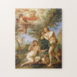 The Rebuke of Adam and Eve Jigsaw Puzzle