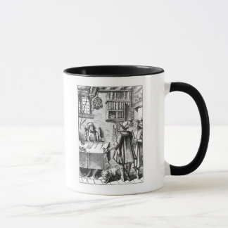The Receiver of Taxes, after a woodcut in 'Praxis Mug