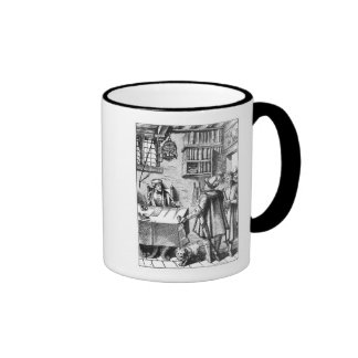 The Receiver of Taxes, after a woodcut in 'Praxis Coffee Mug