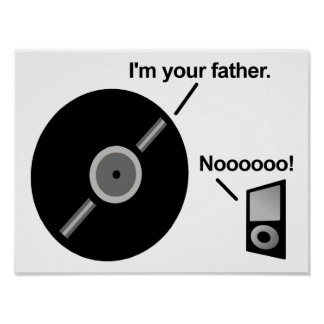 The Record Father Funny Poster