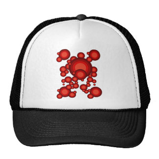 The Red 70's year styling Trucker Hat