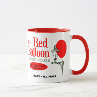 The Red Balloon Coffee House, Niles, Illinois Mug