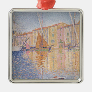 The Red Buoy, Saint Tropez, 1895 Metal Ornament