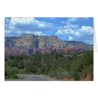 The Red Cliffs of Sedona--Card Card