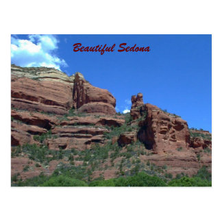 The Red Cliffs of Sedona--Postcard Postcard