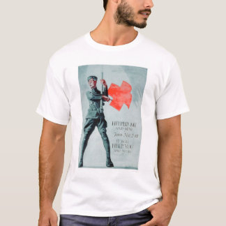 The Red Cross Helped Me (US00036) T-Shirt