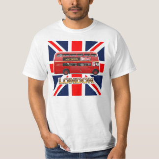 The Red Double-Decker London Bus Tee Shirt