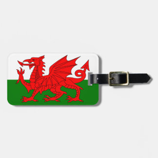 The Red Dragon [Flag of Wales] Luggage Tag