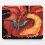 The Red Dragon Mouse Pads