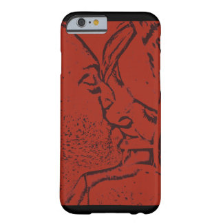 The Red Kiss Barely There iPhone 6 Case