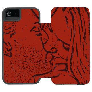 The Red Kiss Incipio Watson™ iPhone 5 Wallet Case
