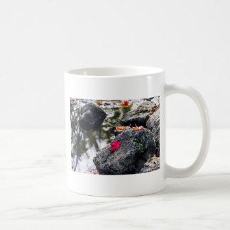 The Red Leaf Coffee Mug