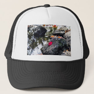 The Red Leaf Trucker Hat