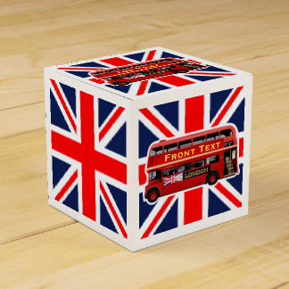The Red London Bus Favor Box