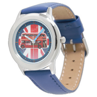 The Red London Double Decker Bus Watch